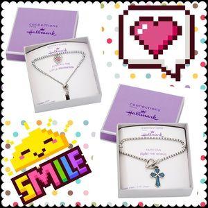 Stainless Steel Crystal Heart Lariat Bracelet / St